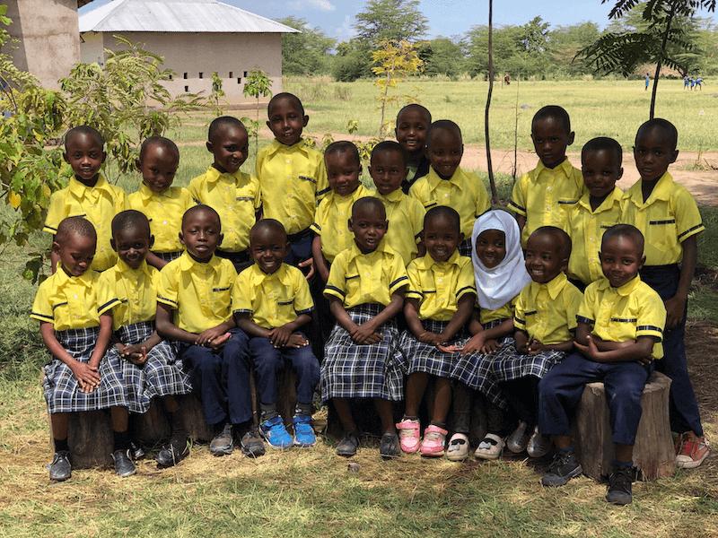 Bandari Kindergarten class photo